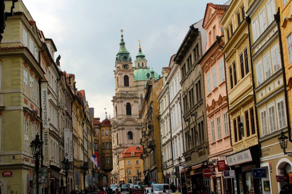 City Streets in Prague