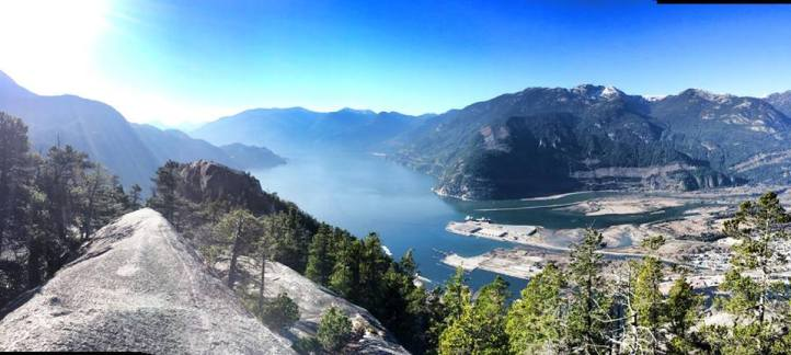 A day of hiking in Squamish, BC