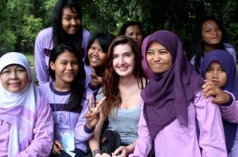 Meeting locals in Bogor!