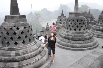 at Borobudur