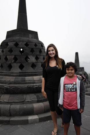 at Borobudur Temple!