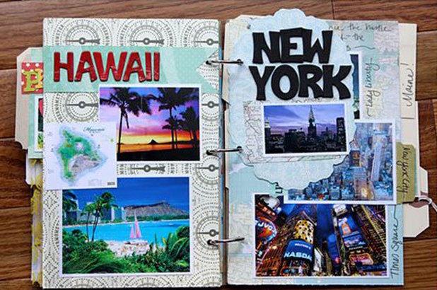 cool-scrapbook-ideas-you-should-make-travel-scrapbook