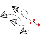 heart-paper-planes