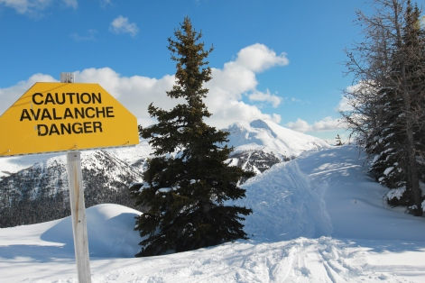 Avalanche Danger nearby!